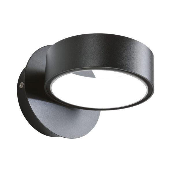 Aplică Redo Atomo LED 125mm- negru mat