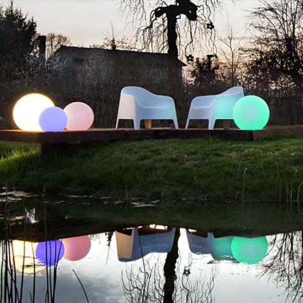 Serie de corpuri de iluminat pentru exterior Redo Baloo
