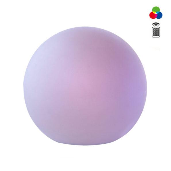 Glob exterior Redo Baloo 380 mm - control RGB