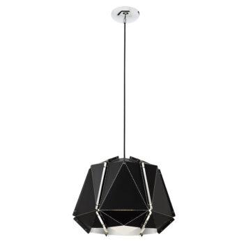 Suspensie interior Redo Wabi negru 01-832 forma rotunda