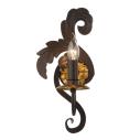Aplica incanti Spirito dreapta - maro/auriu