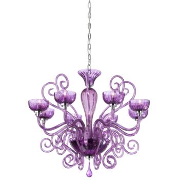 Candelabru Incanti Lirica violet