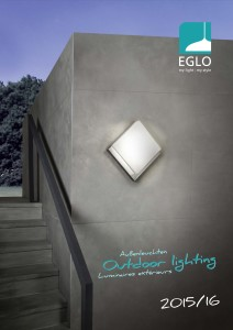 EGLO OUTDOOR LIGHTING - cover page catalog