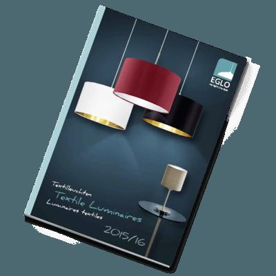 Catalog iluminat Eglo Textile luminaires 2015-2016