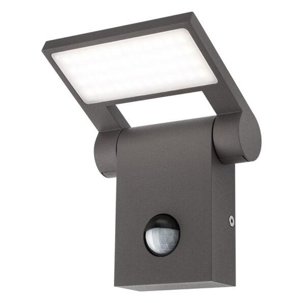 Aplică iluminat exterior LED Redo VARIAL, senzor prezență, crepuscul
