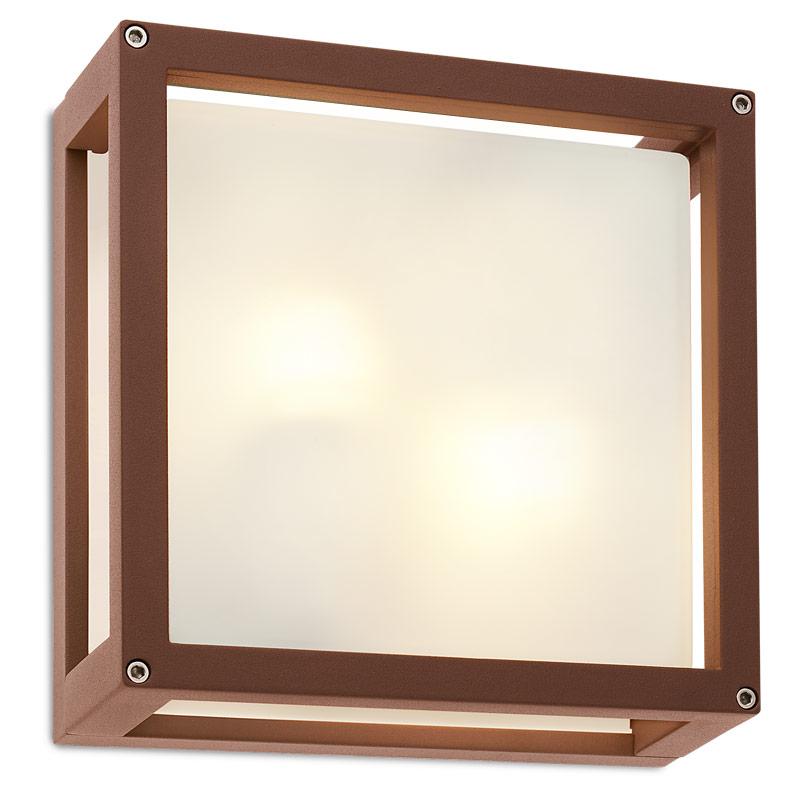 Aplică - Plafonieră Iluminat Exterior Redo Brick Glass