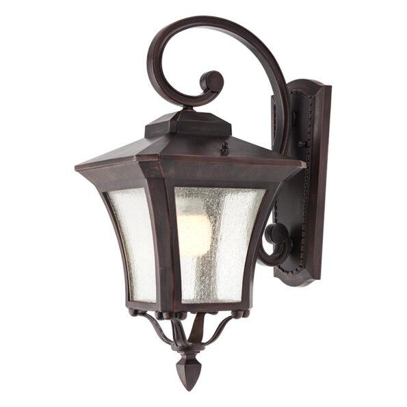 Aplică pentru iluminat exterior Redo DUBLIN antic