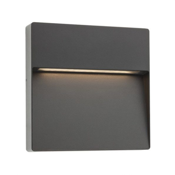 Aplică pentru iluminat exterior LED Redo EVEN pătrată, 215mm