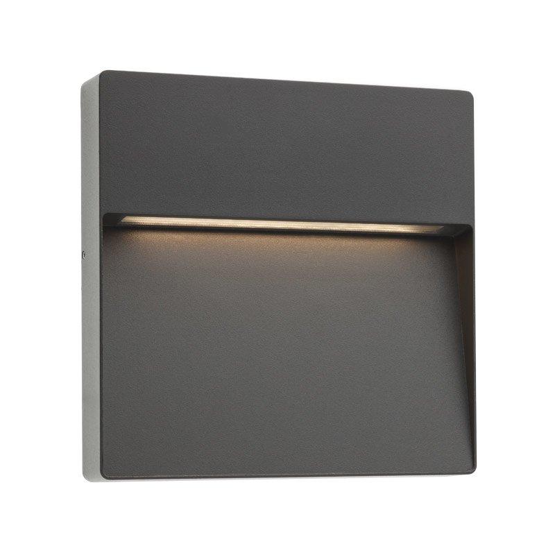 Aplică Pentru Iluminat Exterior Led Redo Even Pătrată  215mm
