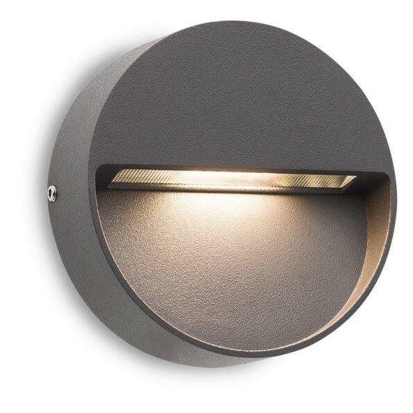 Aplică pentru iluminat exterior LED Redo EVEN rotundă, 100mm