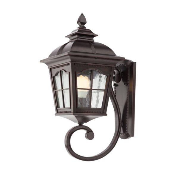 Aplică pentru iluminat exterior Redo YORK negru antic, braț inferior, 543mm