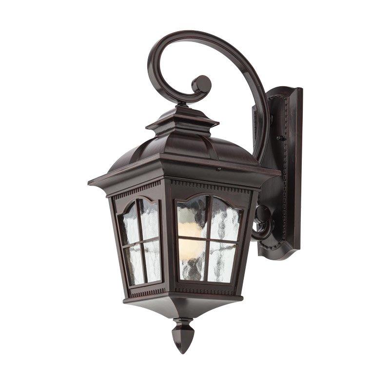 Aplică Pentru Iluminat Exterior Redo York Negru Antic  Braț Superior  543mm