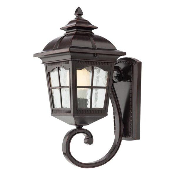 Aplică pentru iluminat exterior Redo YORK negru antic, braț inferior, 429mm