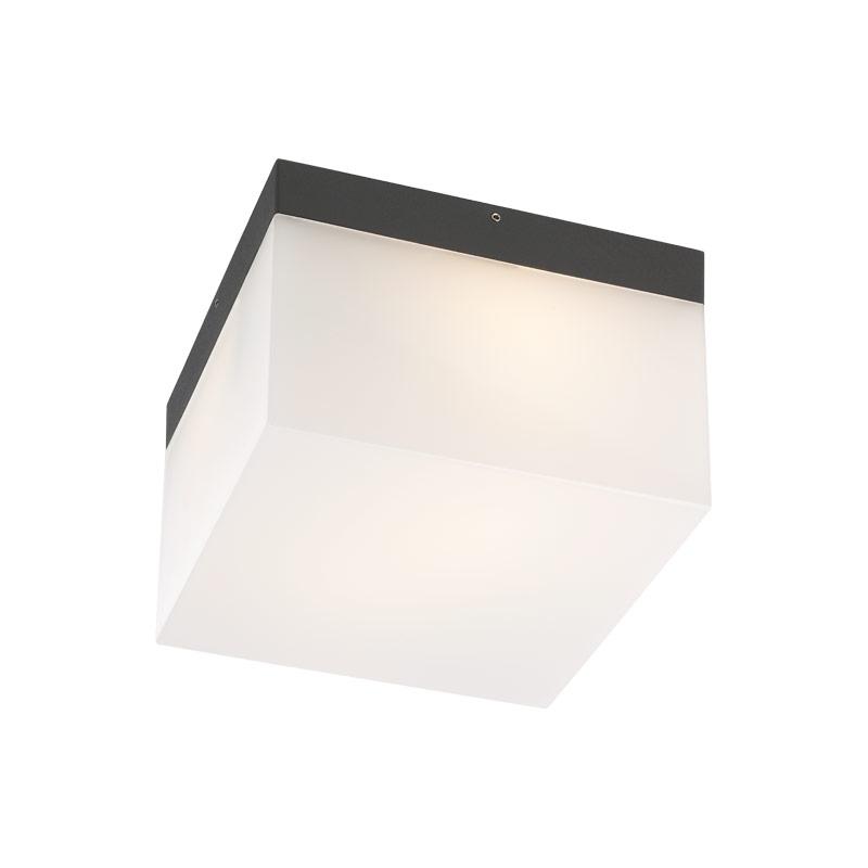 Aplică - Plafonieră Exterior Sursă Fluorescentă Redo Cube  142mm