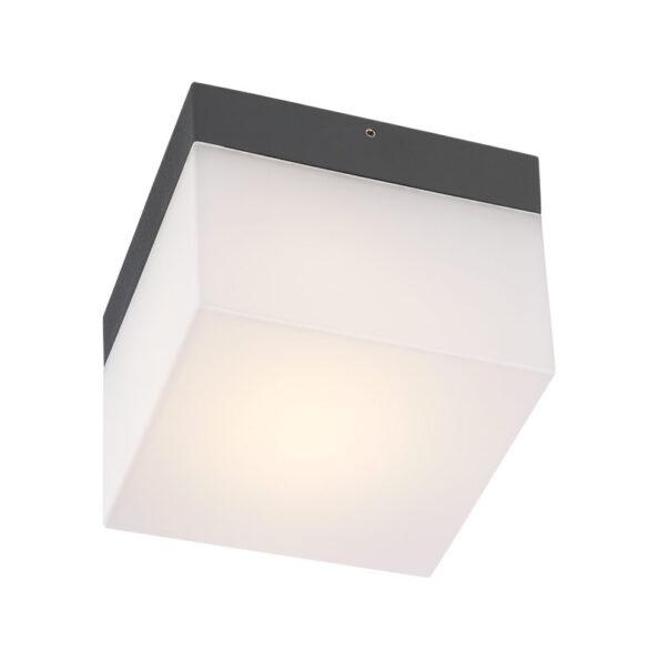 Aplică – plafonieră exterior sursă fluorescentă Redo CUBE, 207mm