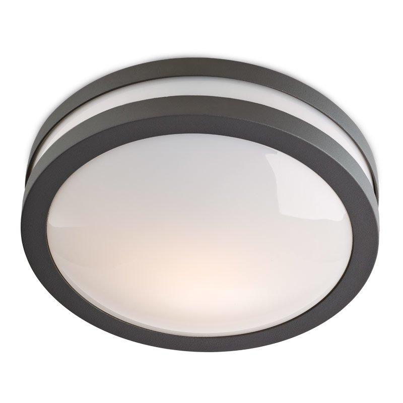 Aplică/plafonieră Iluminat Exterior Redo Sonar  42w  Gri