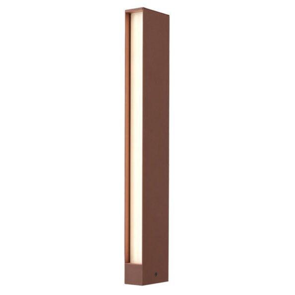 Stâlpișor pentru iluminat exterior Redo TWIN LED 10W, dispersie laterală
