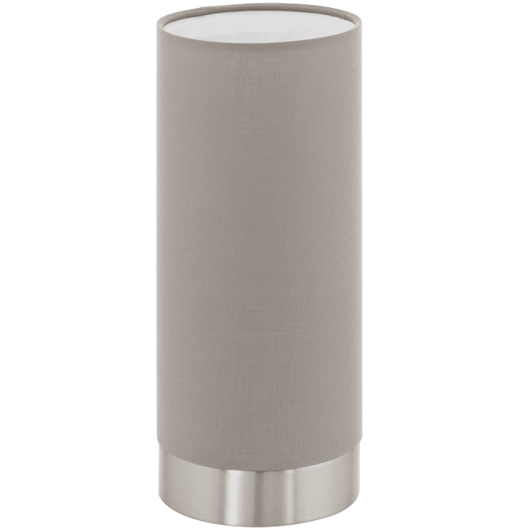 Lampa de masa EGLO PASTERI 95122 nichel-taupe