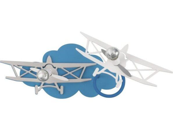 aplica-nowodvorski-plane-ii-6903-2-becuri-avion