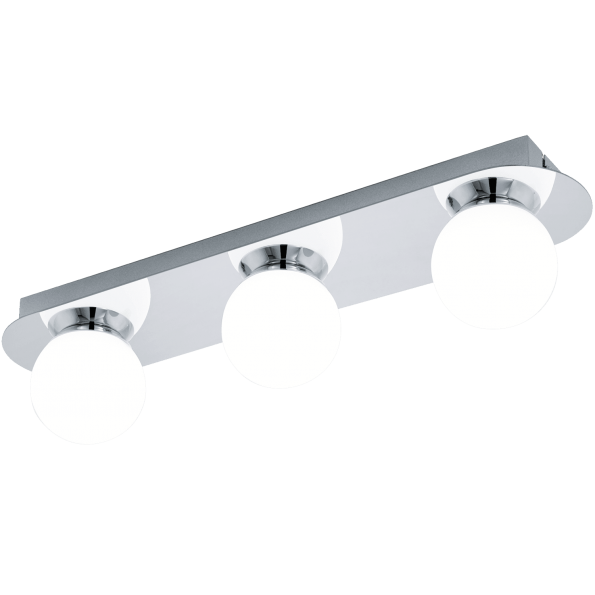 Aplica Plafoniera baie LED Eglo MOSIANO 94628 alb-crom