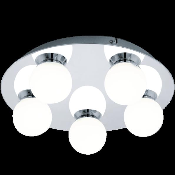Aplica Plafoniera baie LED Eglo MOSIANO 94631 alb-crom