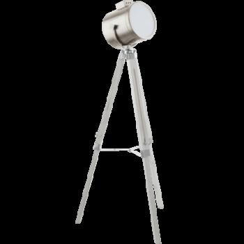 Lampadar-Lampa-podea-trepied-Eglo-UPSTREET-94371-alb-patinat-nichel