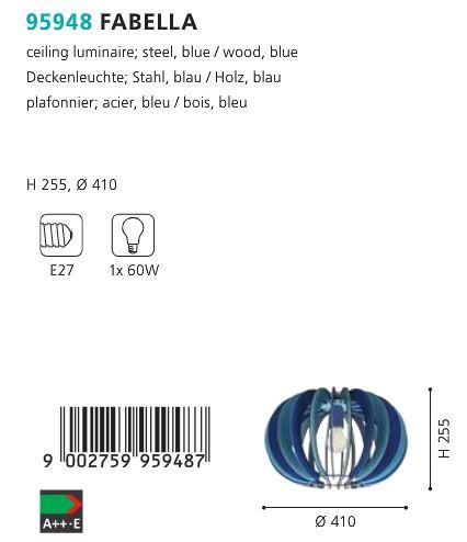 Plafoniera-Eglo-FABELLA-95948-albastru