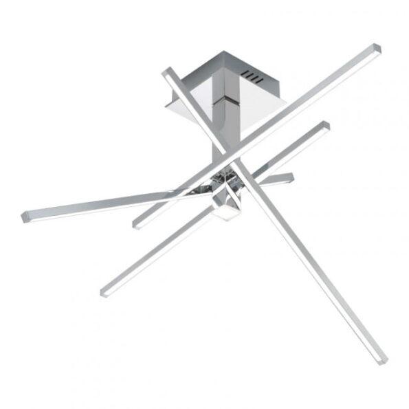 Plafonieră Redo AXIAL LED 34W, crom, brațe mobile