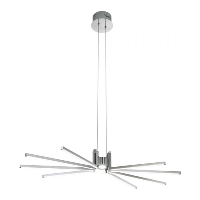 Suspensie Redo Axial Led 38w  Crom