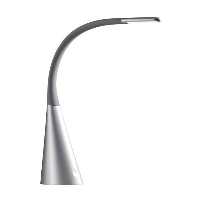Veioză/lampă De Birou Led Redo Alias Argintiu-negru