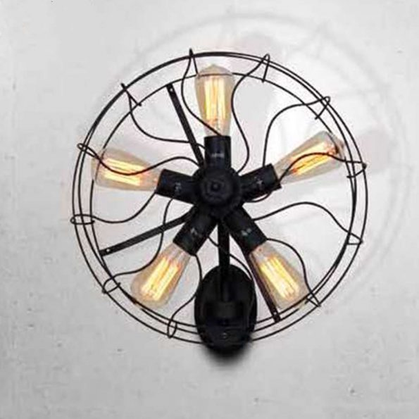Aplica-perete-Homelighting-FAN-KS1423W-5BK