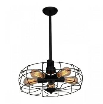 Lustra Pendul Homelighting FAN KS1423P-5BK