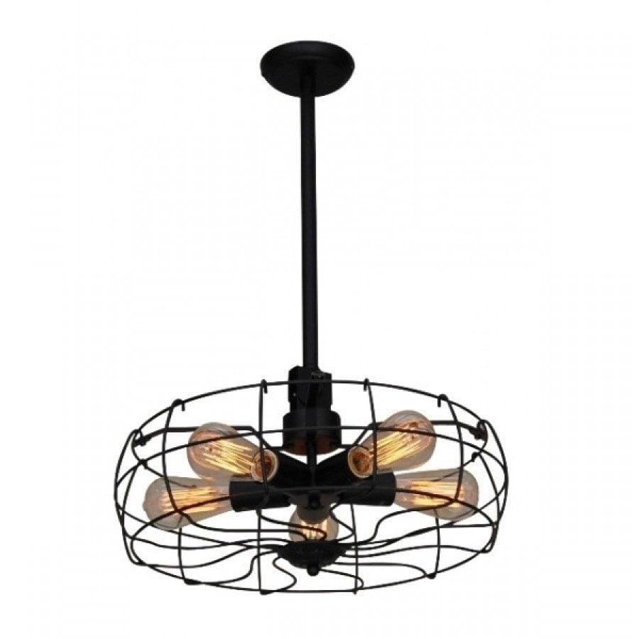Lustră Tip Pendul Home Lighting Fan  Industrial