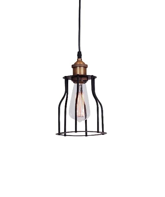 Pendul-Suspensie-Zambelis-1454-negru-bronz-industrial