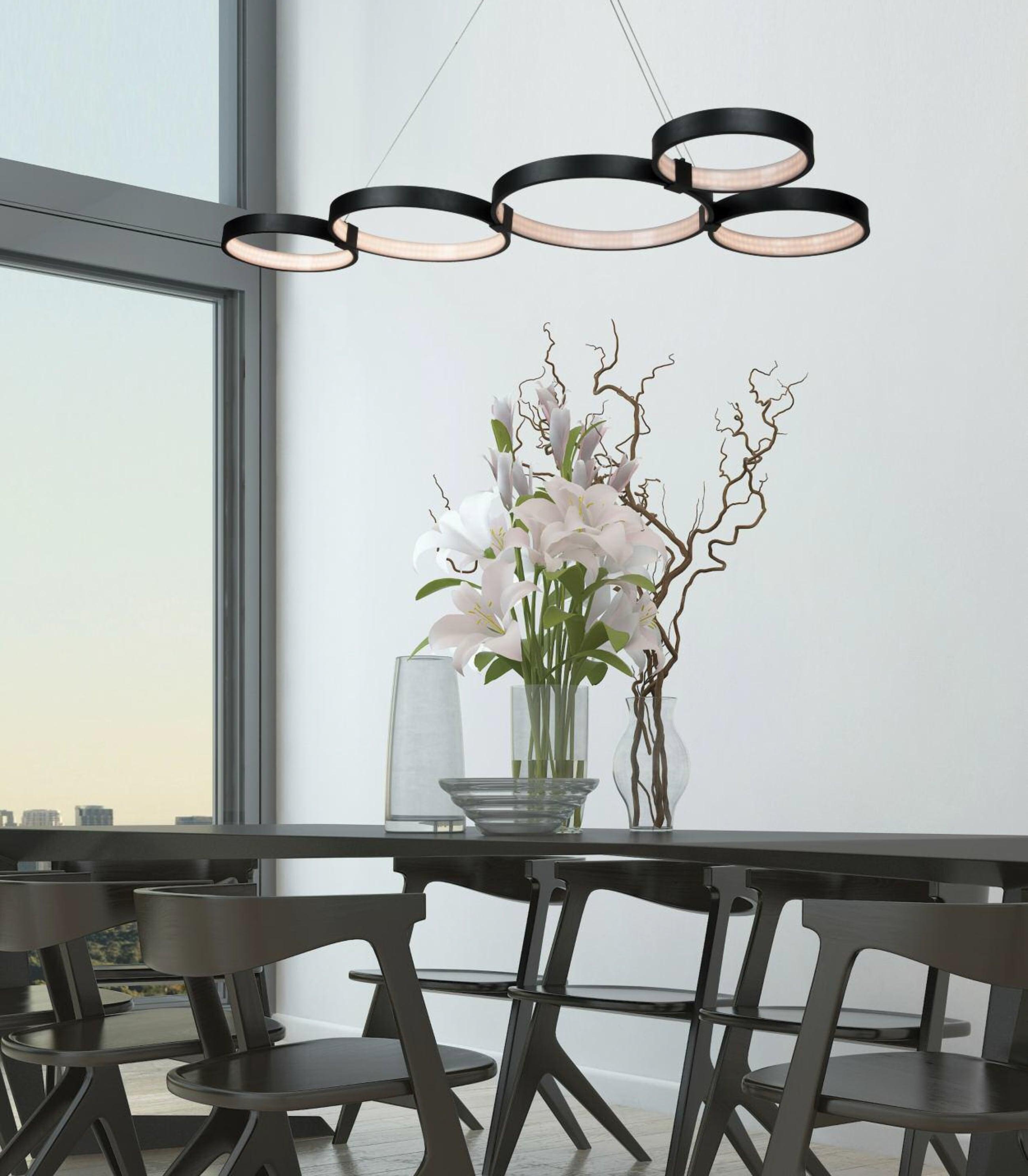 Suspensie LED Zambelis 1614 69w - ambient