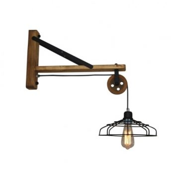 Aplica lampa perete Home Lighting LORLAS WALL HL-316W-1L industrial