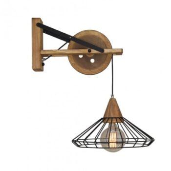 Aplica lampa perete Home Lighting LORLAS WALL HL-316W-1S industrial