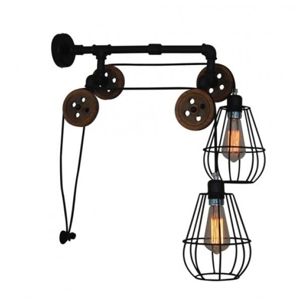 Aplică/lampă De Perete 2 Brațe Home Lighting Ul