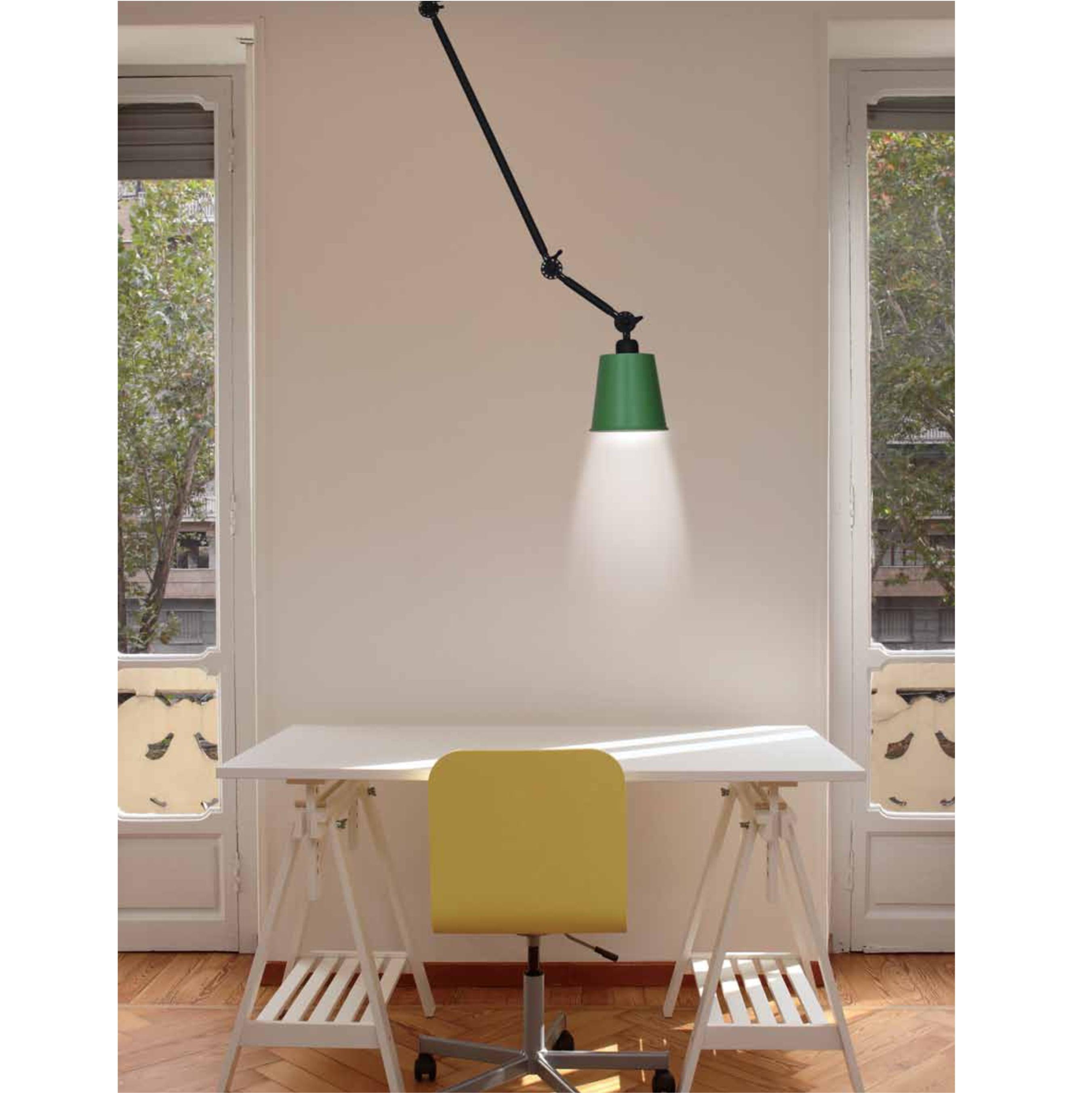 Lampă Cu Braț Reglabil  Mobil Home Lighting Focus  Structură + Abajur Diverse Culori