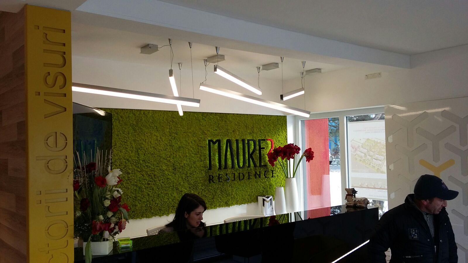 Proiect iluminat interior: birou vânzări/relații cu clienții - Annora Lighting
