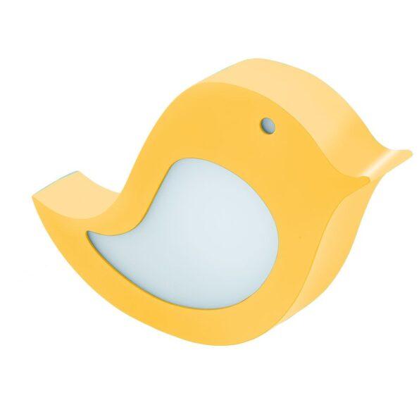 Aplica Veioza copii LED Eglo SPARINO 96854, galben