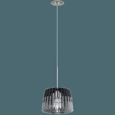 Pendul Eglo ARTANA 96955 300mm, negru-gri