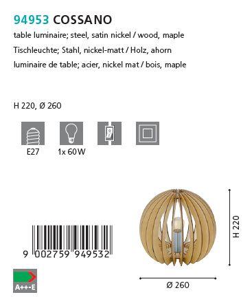 Veioza Eglo COSSANO 94953 artar