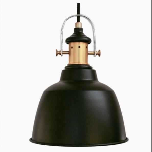 Pendul Eglo GILWELL 49693 negru-bronz, vintage