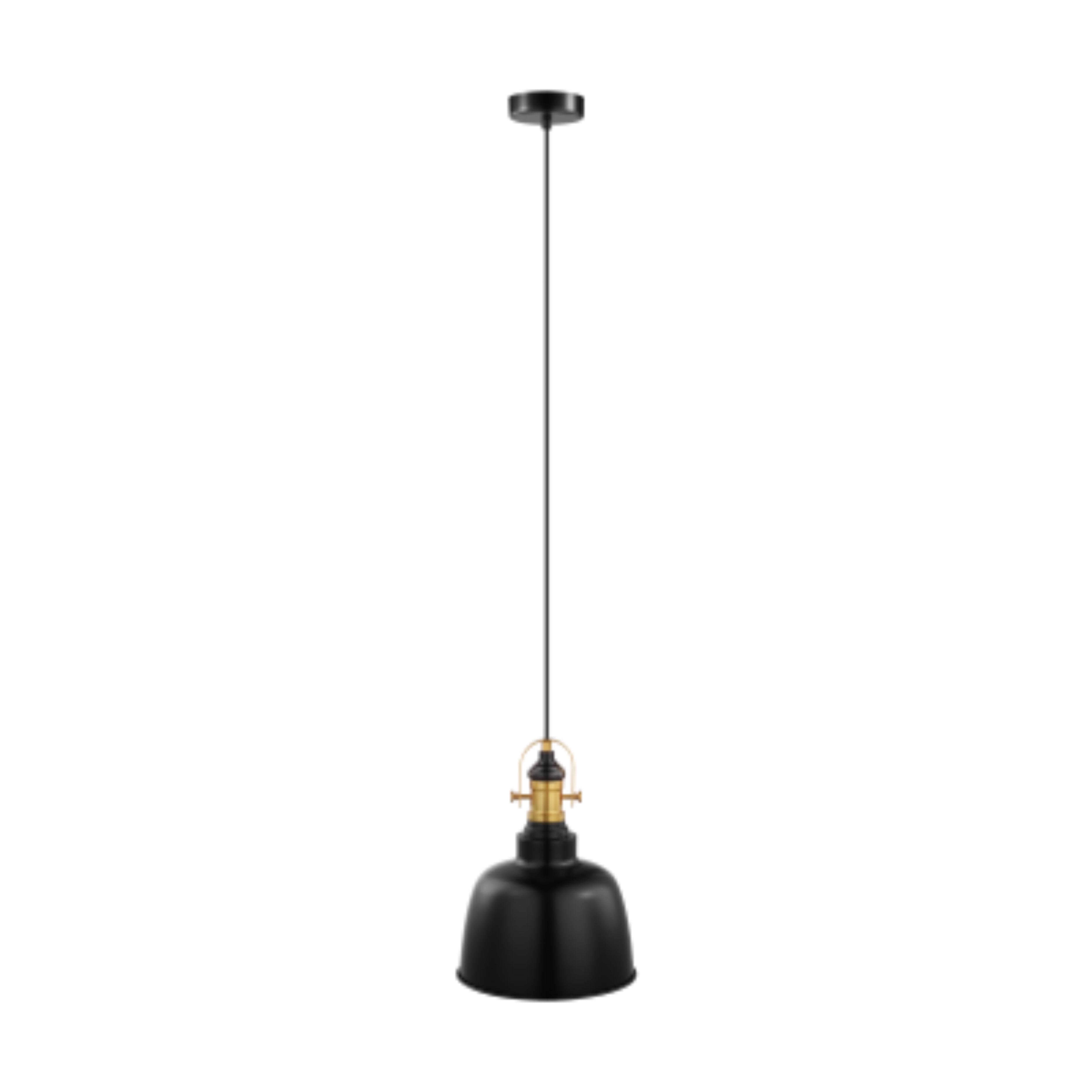 Pendul Eglo GILWELL 49839 negru-bronz, vintage