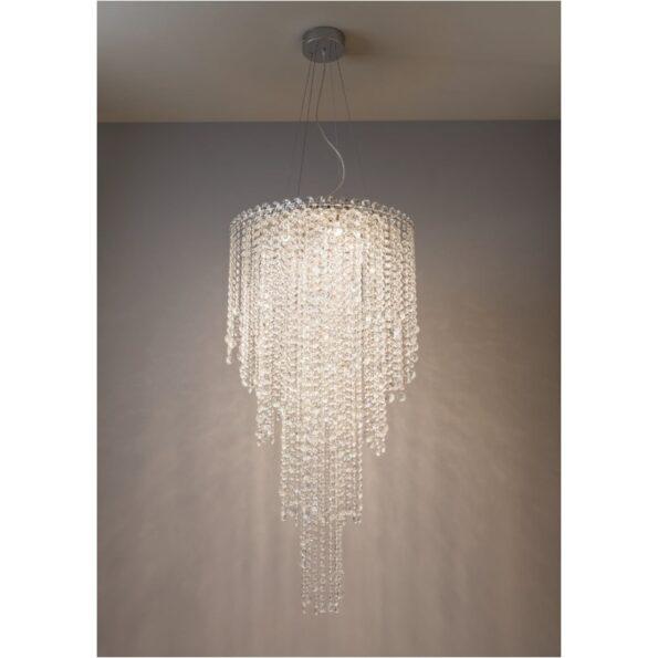 Corp de iluminat din cristal pentru interior Incanti TREVI ITV_P6_10_60,