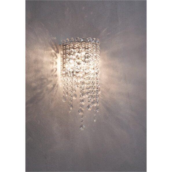 Aplica Incanti TREVI ITV_W2_10_60, pandantive cristal