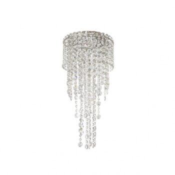 Plafoniera Incanti TREVI ITV_CL3_10_60, pandantive cristal