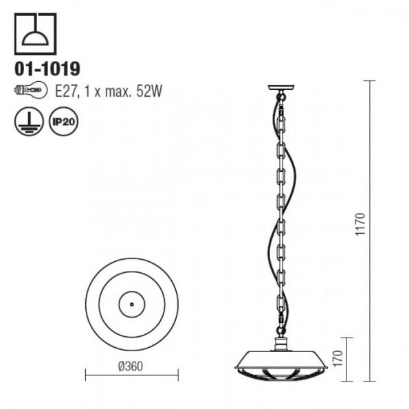 Suspensie Redo GARAGE 01-1019_tehnic