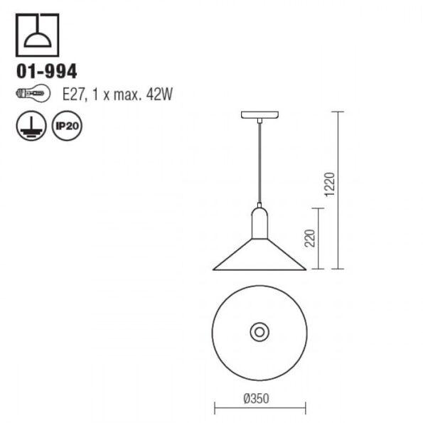 Suspensie interior Redo PEEK 01-994_tehnic